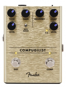 Fender Compugilist Compressor Distortion Pedale Effetto
