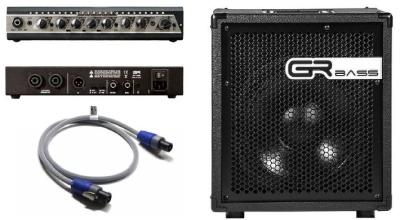 Grbass Kit Testata One350 + Cassa Cube112Tx + Cavo Gr Speakon