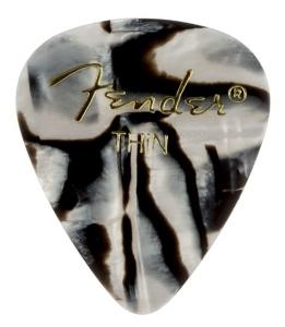 Fender Plettri 351 Zebra Thin Pack 12 Pz