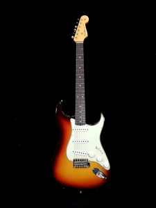 Fender Vintage Custom 1959 Stratocaster Nos Chocolate 3 Color Sunburst
