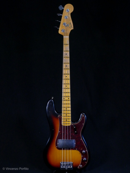 FENDER 2019 POSTMODERN BASS JOURNEYMAN RELIC AGED FADED 3COLOR SUNBURST
