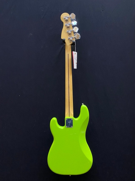 FENDER PRECISION PLAYER LIMITED ELECTRON GREEN BASSO ELETTRICO 3
