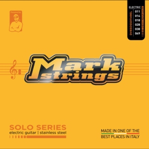 Dv Mark Muta per Chitarra Elettrica Solo Stainless Steel Heavy Medium 11-49