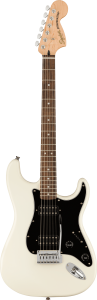 Squier  Affinity Stratocaster HH, Laurel Fingerboard Olympic White