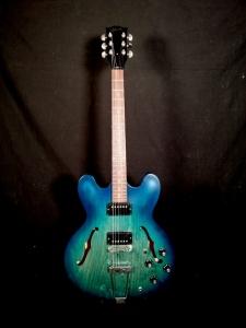 Gibson ES 330 LTD 2018 aquamarine satin usata