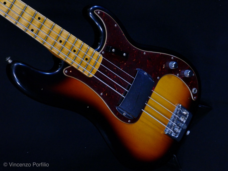 FENDER 2019 POSTMODERN BASS JOURNEYMAN RELIC AGED FADED 3COLOR SUNBURST 2