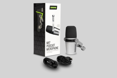 Shure Mv7-S Microfono Dinamico Usb