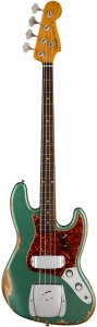 FENDER LIMITED EDITION 1960 JAZZ BASS HEAVYV RELIC AGED SHERWOOD GREEN