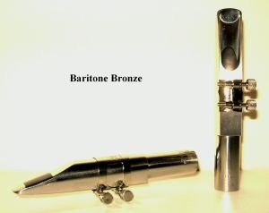 BERG LARSEN BOCCHINO SASSOFONO SAX BARITONO BRONZE 120/2 SMS 7