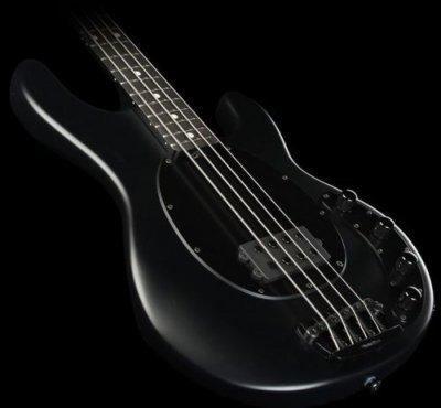 Musicman Sting Ray 4 Classic Stingray Black Satin