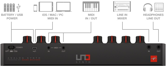 IK MULTIMEDIA UNO SYNTH 0