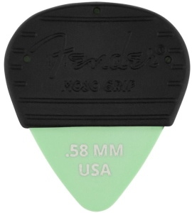 Fender Mojo Grip Picks Dura Tone Delrin .58 3-Pack
