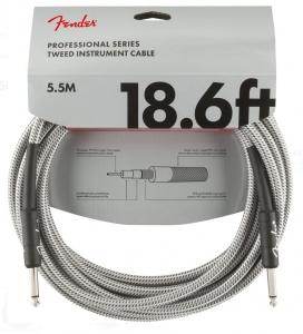 Fender Cavo Professional 5,5Mt White Tweed