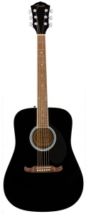 FENDER FA125 DREADNOUGHT BLACK CHITARRA ACUSTICA