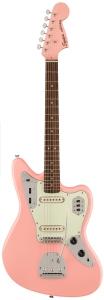 Squier Classic Vibe '60s Jaguar FSR Shell Pink Matching Headstock