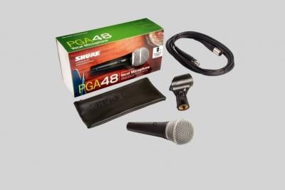 Shure Pga48Xlr Microfono Dinamico