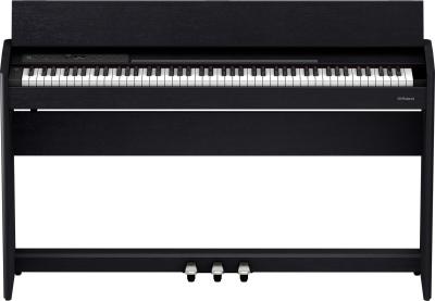 Roland F701 CB Pianoforte Digitale con stand Charcoal Black