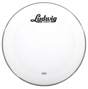 LUDWIG PELLE RISONANTE POWERSTROKE3 SMOOTH WHITE 22'