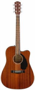 Fender Cd-60Sce All Mahogany Chitarra Acustica