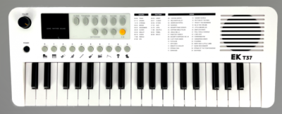 EK EKT37 White Bundle tastiera scolastica 37 tasti con borsa e alimentatore