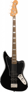 Squier Classic Vibe Jaguar Black Basso Elettrico