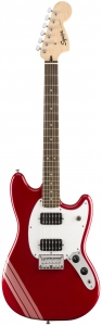 SQUIER FSR BULLET MUSTANG COMPETITION CANDY APPLE RED CHITARRA ELETTRICA