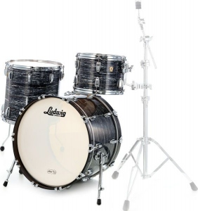 LUDWIG LEGACY FAB 4 OYSTER BLACK SET COMPLETO
