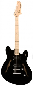 SQUIER AFFINITY STARCASTER BLACK