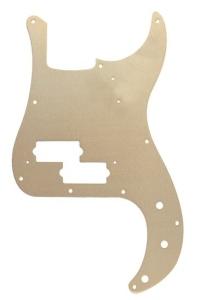 Fender Battipenna 57 Precision Bass  Gold Anodized 10 Fori