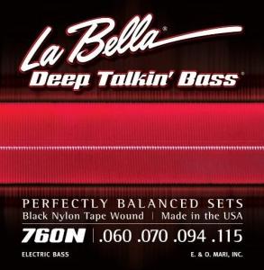 LA BELLA MUTA PER BASSO ELETTRICO 760N 4C LISCE 060-115