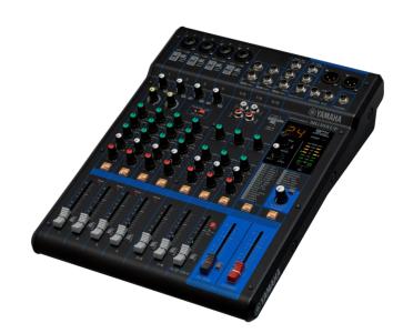Yamaha Mg10Xuf Mixer Analogico 10 Canali Con Effetti