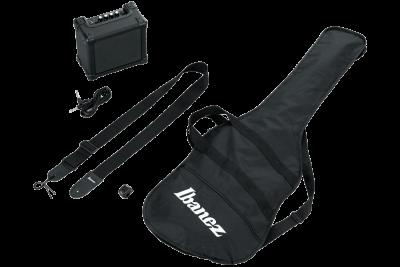Ibanez Ijsr190Wns Jumpstart Kit Walnut Sunburst Basso Elettrico Con Accessori