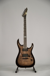 ESP Horizon II Made in USA see-thru blacksunburst