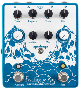 Earthquaker Avalanche Run V2 Ryo Edition Delay Reverb