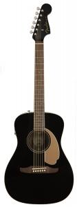 Fender Malibu Player Jetty Black Chitarra Acustica Elettrificata