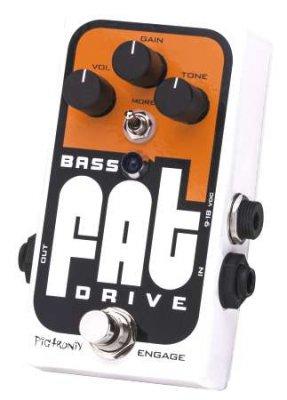 Pigtronix Bass fat drive - overdrive per basso