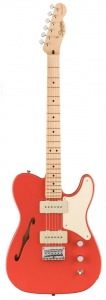 SQUIER PARANORMAL CABRONITA  TELECASTER THINLINE FIESTA RED
