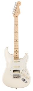 FENDER STRATOCASTER AMERICAN PROFESSIONAL HSS SHAWBUCKER OLYMPIC WHITE