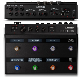 LINE6 L6 HX EFFECTS PEDALE MULTIEFFETTO