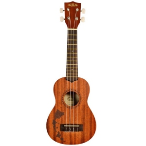 KALA UKULELE SOPRANO SATINATO HAWAIIAN ISLANDS