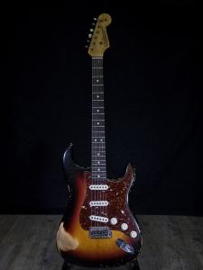 Fender 63  stratocaster relic Masterbuilt G.Fesler usata