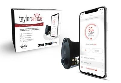 Taylor Sense Guitar Humidity Monitoring System Mobile App