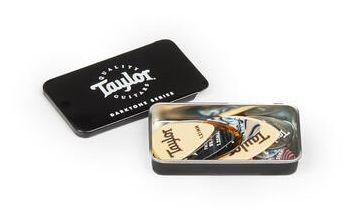 Taylor Darktone Series Pick Tin 9 Pz Misti