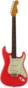 FENDER LIMITED 62/63 STRATOCASTER JOURNEYMAN RELIC RW AGED FIESTA RED
