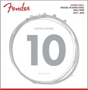 FENDER MUTA 250R NICKEL PLATED STEEL STRINGS 010-046