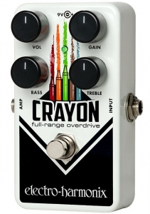 ELECTRO HARMONIX CRAYON 69 OVERDRIVE PEDALE EFFETTO