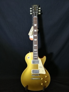 GIBSON 1957 LES PAUL ANTIQUE GOLD VOS