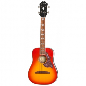 EPIPHONE HUMMINGBIRD UKULELE TENORE FADED CHERRY SUNBURST