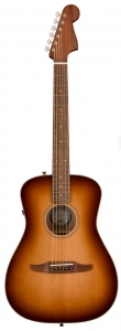 Fender Malibu Classic Aged Cognac Burst Con Custodia