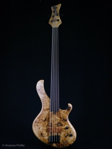 MARUSZCZYK FROG 5A OMEGA FRETLESS  NATURAL